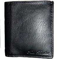 A portafoglio in vera pelle morbida da Fabio Landini (in pelle) nero