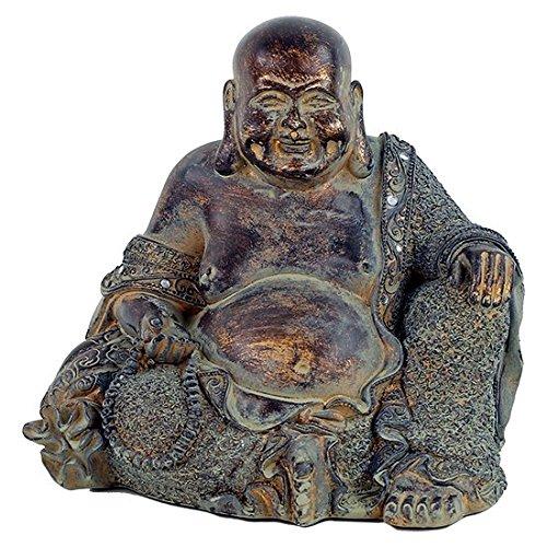 Estatua Buda Sonriente 22x 17x 20cm...