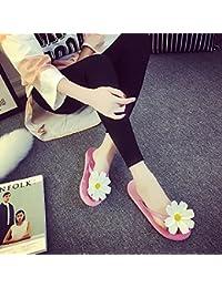 XIAMUO Koreanischen Sommer neuen Stil Original Hand tragen Blumen Meer Sandalen Flip-Flops Flip-Flop-Sandalen...
