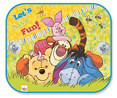 Kinder Kids Baby rechteckig Auto Sonnenschutz Set Schattierungen von 2Disney Winnie the Pooh