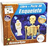 Science4you - Puzzle 3D - esqueleto - juguete científico y educativo