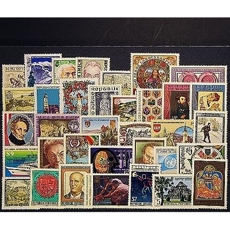 Goldhahn Österreich 1990 postfrisch ** Nr. 1978-2012 Briefmarken für Sammler