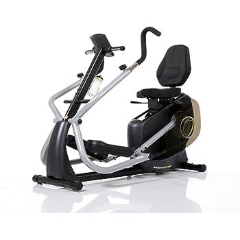 Bicicleta Elíptica Y Estática Reclinada, 2 en 1, Ergómetro Con Asiento Cardio Strider 3956