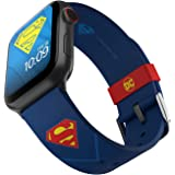 DC Comics - Superman Tactical Edition - Cinturino in silicone con licenza ufficiale compatibile con Apple Watch, adatto a 38