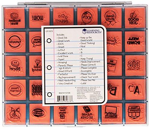 Imagen principal de Learning Resources - Juego grande de sellos de caucho