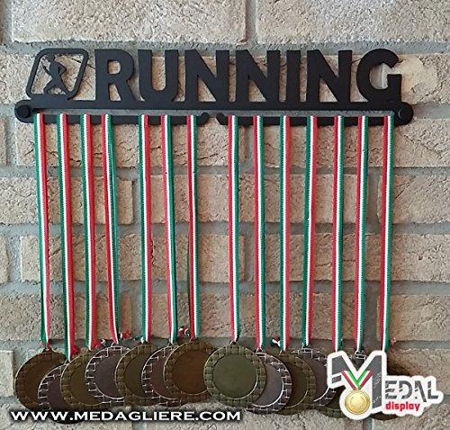 Sport Medaillen Anzeige - Medaille Wand - Medal display (RUNNING design)