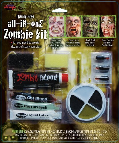 Zombie All-in-One Family Size Makeup Kit by Fun World