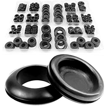 Outstanding Toolzone 125Pc Rubber Grommets Amazon Co Uk Diy Tools Wiring Digital Resources Remcakbiperorg