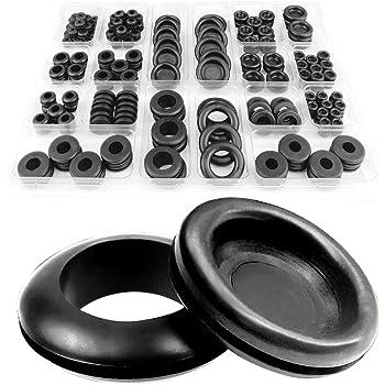 Groovy Toolzone 125Pc Rubber Grommets Amazon Co Uk Diy Tools Wiring 101 Mentrastrewellnesstrialsorg