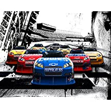 Legendarte Lienzo Cars Racing