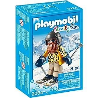 Playmobil-9284 Esquiador con Snowblades, Color Beige, única (9284)