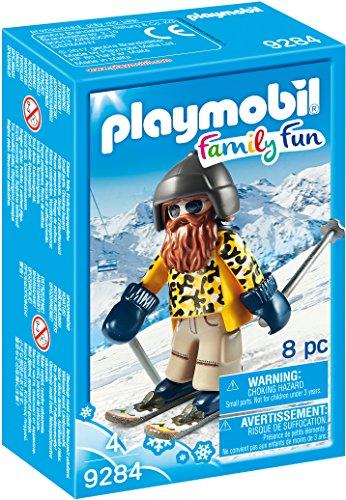Playmobil-9284 Esquiador con Snowblades
