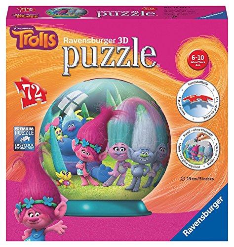 TROLLS Puzzle 3B Bola