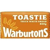 Warburtons Toastie White, 800g