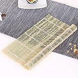XXAICW Home Sushi Werkzeuge Materialien spezielle Bambusvorhang Rollen Algen Antihaft-Bretter Bambusvorhang der Vorhang-Verschluss