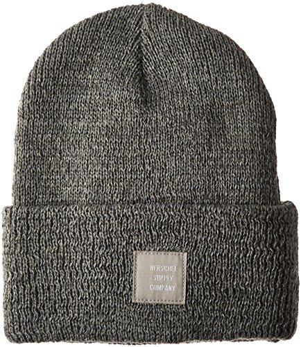 herschel-supply-co-grau-refelective-speckle-abbott-beanie