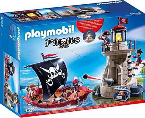 Playmobil® 9522 Piratenset mit Piratenschiff und Soldatenturm