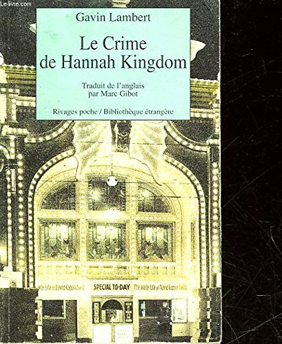 Le Crime De Hannah Kingdom