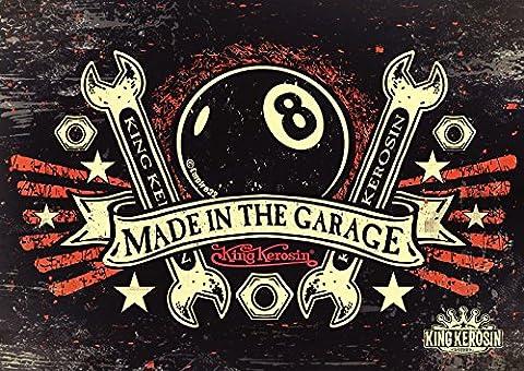 King Kerosin Poster / Plakat Made in the Garage