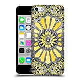 Head Case Designs Offizielle Micklyn Le Feuvre Sonniges Gelb Aquarell Muster 3 Ruckseite Hülle für Apple iPhone 5c