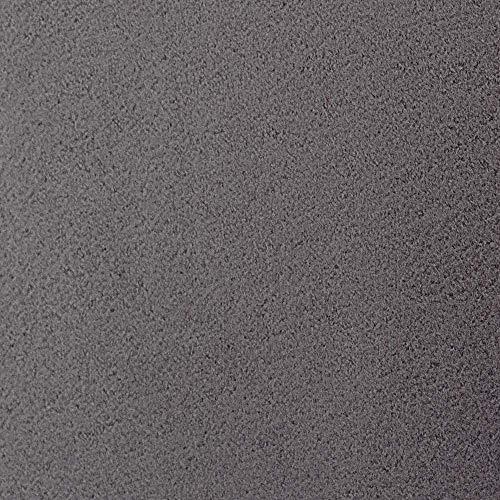 #1 Etérea Teddy Flausch Kinder-Spannbettlaken, Spannbetttuch, Bettlaken, 18 Farben, 60×120 cm – 70×140 cm, Anthrazit - 3