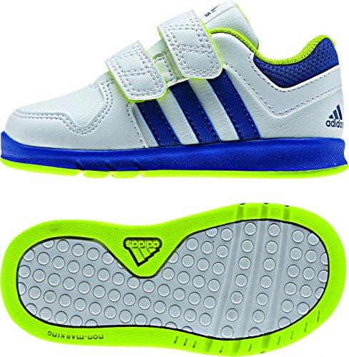 adidas Trainer 6, Baskets premiers pas mixte bébé Blanc