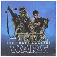 "'Your Favorite Star Wars Episode VII Super Fan will Love These Action Packed Beverage Napkins. Bright and Colorful, Each 5.5"" X 5.5 portatovaglioli di is strong and durable. Napkins Feature Images of our Heroes Rey, Finn and Chewbacca on one ..."