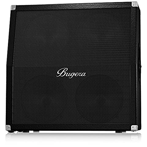 Bugera 412H-BK Classic 4x12 inch 200W Half Stack Guitar Cabinet with Original Bugera Speakers