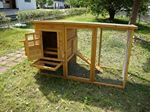 Cocoon Chicken Coop Hen House Poultry Ark Nest Box - Now With Rear Vent Holes And Secure Nest Box Floor - Only Sold By Seller 'cocoon' On Amazon by Cocoon