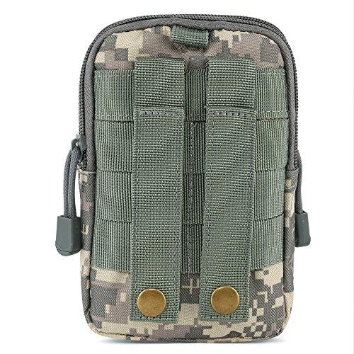 Mmondschein Taktisch Molle Taille Tasche Pack Bum Tasche Beutel Kompakt im Freien Mehrzweck Utility Gadget Werkzeug Gürtel ACU