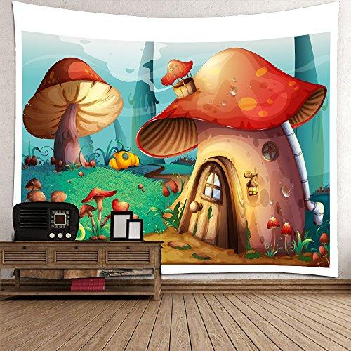 Wjsw Kreativ 3D Abstrakt Dekoration Tapisserie, Indische Mandala Hippie Boho Stil, Tischdecke Schlafzimmer Wohnzimmer Inneneinrichtung, Strandtuch Yoga Matte Bettdecke Picknickdecke,B,150*210Cm