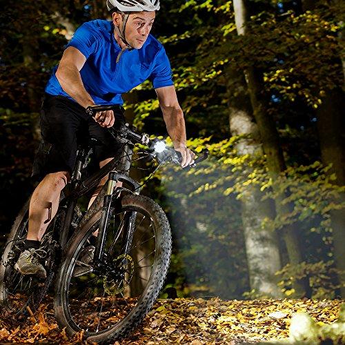 Fahrradlicht LED Set, Furado Fahrradlicht Fahrradbeleuchtung, Wasserdicht LED Fahrradlampenset, USB Wiederaufladbare Frontlicht und Rücklicht mit 4 Licht-Modus & 2 USB Kabel für Fahrrad Radfahren - 6