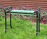 Garten Sitz- und Kniebank - praktisch zusammenklappbar - Sitzbank zur