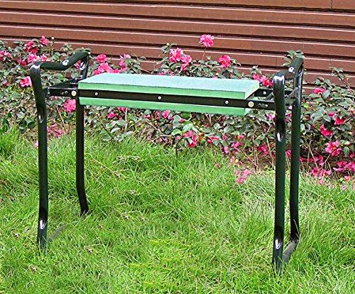 Garten Sitz- und Kniebank - praktisch zusammenklappbar - Sitzbank zur Gartenarbeit