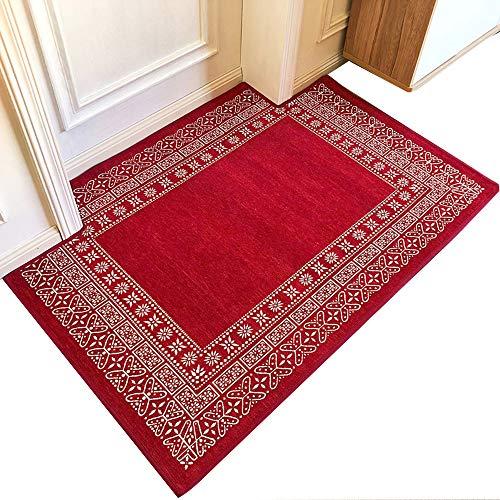 GHGMM Teppich Fußmatten, Einfach Haushalt rutschfest Wasseraufnahme Türmatte, Passend für Küche Wohnzimmer Kaffetisch Schlafzimmer Badezimmer, anpassbar -