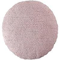 Cojín grande redondo color rosa
