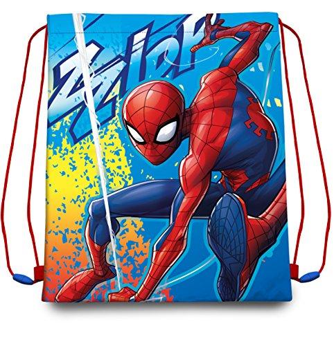 Kids Schlafsack Spiderman Rucksack (mv15363) (Kinder Für Spiderman-schlafsack)