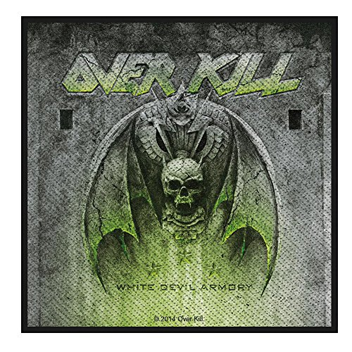 Preisvergleich Produktbild OVERKILL - White Devil Armory - Patch / Aufnäher