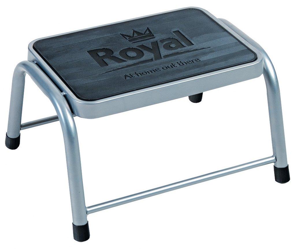 Royal 199100 Single Deluxe Step Non-Slip, Grey