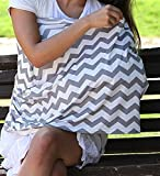 #4: Multi Use Nursing Breastfeeding Cover – Breathable, Stretchy, Fashionable to use as a Infinity Nursing Scarf and Shawl