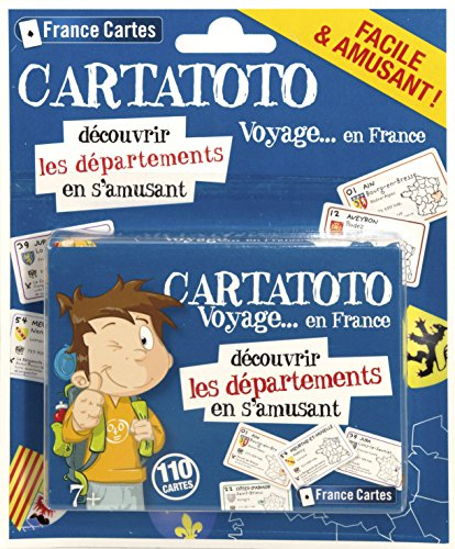 Cartatoto - Départements France - Jeu de Cartes Educatif