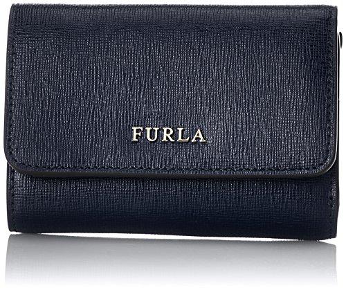 FURLA Babylon S Trifold - Portafogli Donna, Blu (Blu D), 1x8x12 cm (B x H T)