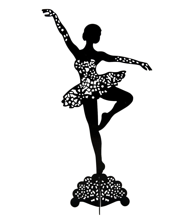 """SIX """"Geschenk"""" schwarzer eleganter Schmuckbaum Ohrringhalter Kettenhalter Schmuckaufbewahrung Schmuckständer Ballerina zum Aufstellen (244-054)"""