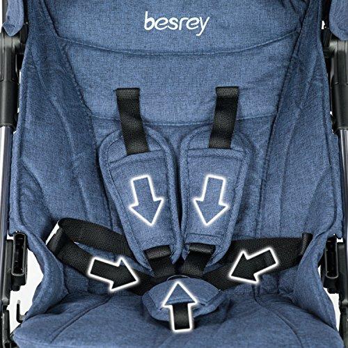 85c139374 besrey mini cochecito de viaje buggy buggy coche deportivo para niños coche  deportivo muy ligero pequeño ...