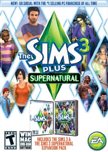 The Sims 3 Plus Supernatural by Electronic Arts