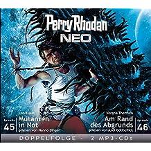 Perry Rhodan NEO MP3 Doppel-CD Folgen 45 + 46: Mutanten in Not; Am Rand des Abgrunds