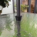 Do4U Regenschirm Konus Regenschirm Keil Sonnenschirm Boden Ständer Terrasse Tisch Loch Ring Plug