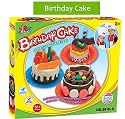 Life Tandy Mini Children Diy Birthday Cake Maker Play Dough Mold
