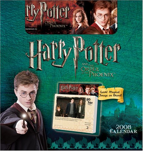 Click for larger image of Harry Potter and the Order of the Phoenix 2008 Calendar