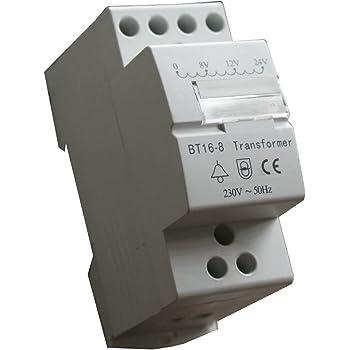 Honeywell D780 Klingeltransformator VDE/DIN-Schienen-Montage: Amazon ...